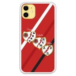 Funda escudo Rayo Vallecano
