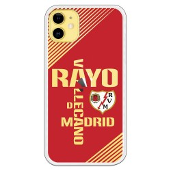 Funda Rayo Vallecano texto clear
